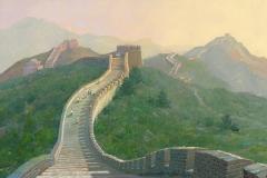 ChinaGreatWallSummerEvening