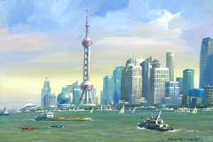 ShanghaiSkylineAfternoon
