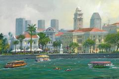 SingaporeRafflesLandingSite