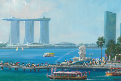 SingaporeTheMerlion