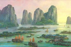 VietnamHalongBayEvening
