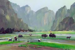 VietnamHalongBayRiceSeedling