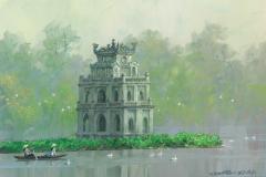 VietnamHanoiTortoiseTower