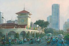 VietnamHoChiMinhCityBusyDay