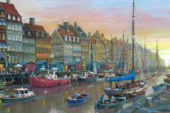 CopenhagenNyhavnWaterfront