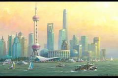 ShanghaiChinaAfternoon