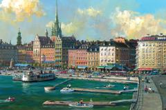StockholmOldTownSkyline