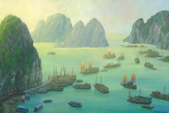 VietnamHalongBayPanorama