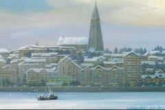 IcelandReykjavikSkyline